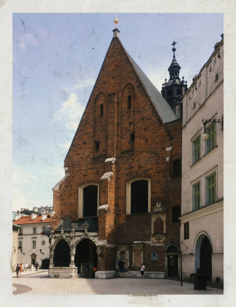 Cracovie - Sainte Barbe - Eglise © Valérie Servant
