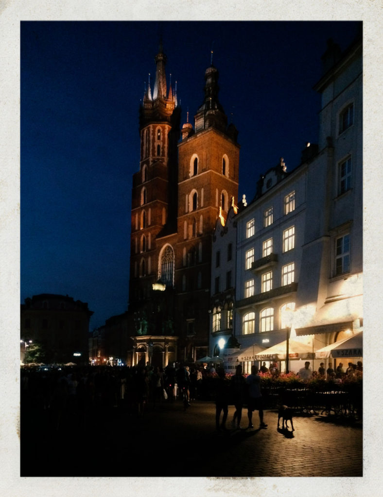Cracovie - Rynek Glowny - Grand Place © Valérie Servant