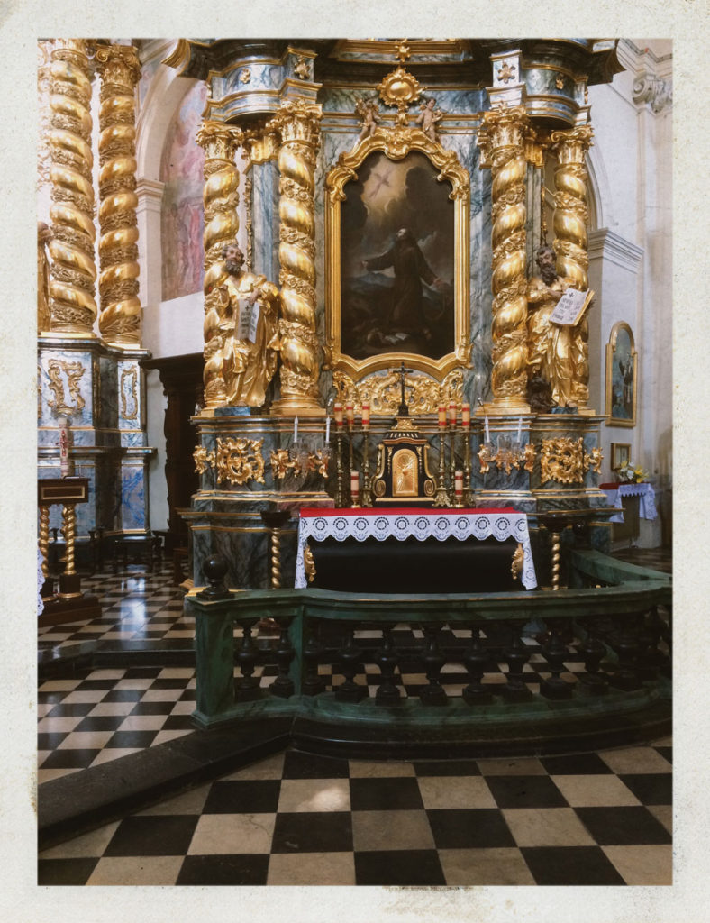 Cracovie - Saint Bernardin- Eglise © Valérie Servant